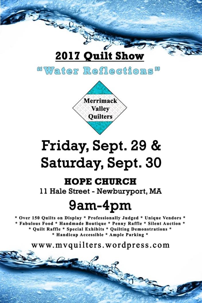 Quilt Show Poster a