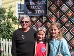 Pat Lucey and friends at Apple Festival